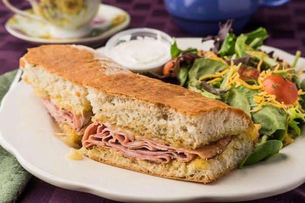 Grilled Ham & Havarti Sandwich