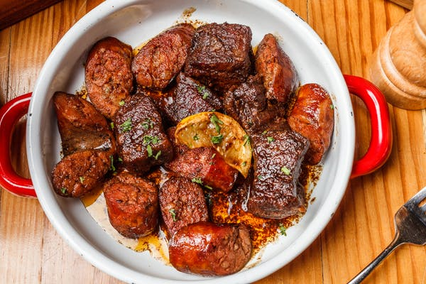 Pork Belly & Sausage Bites