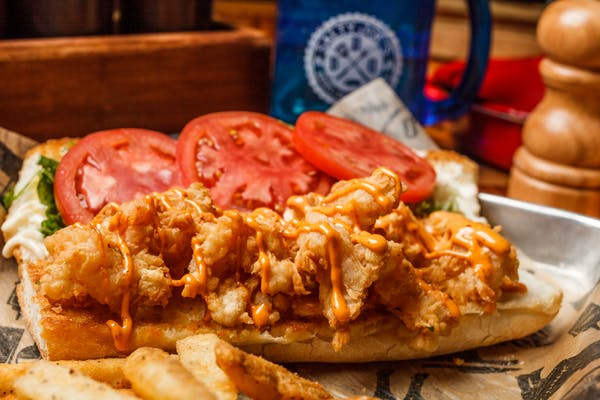 Fried Shrimp Po-Boy