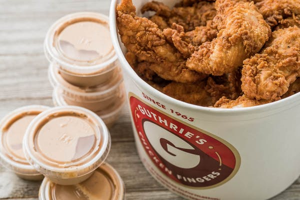 Bucket of Chicken Fingers