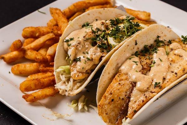 Shrimp or Fish Tacos