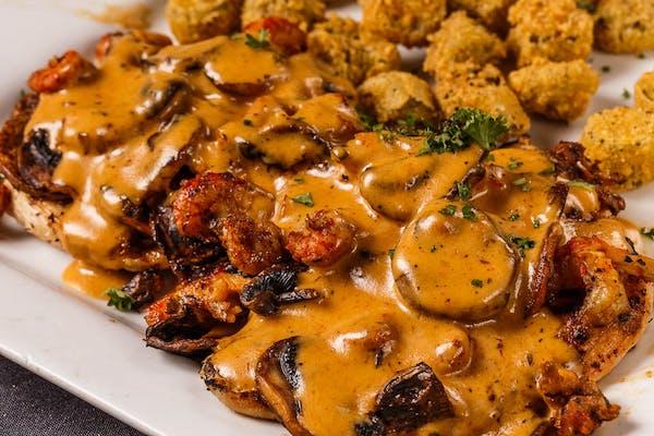 Cajun Chicken & Mushrooms
