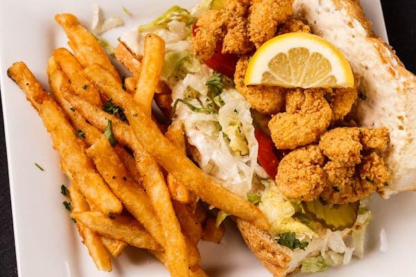 Fried Gulf Shrimp Po-Boy