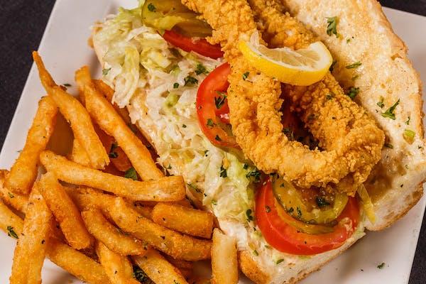 Fried Louisiana Catfish Po-Boy