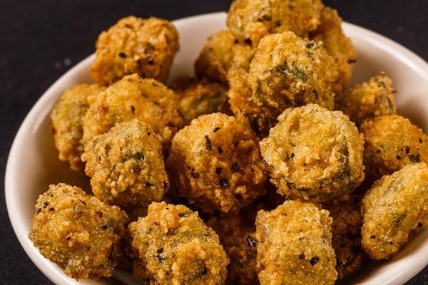 Side Homemade Fried Okra