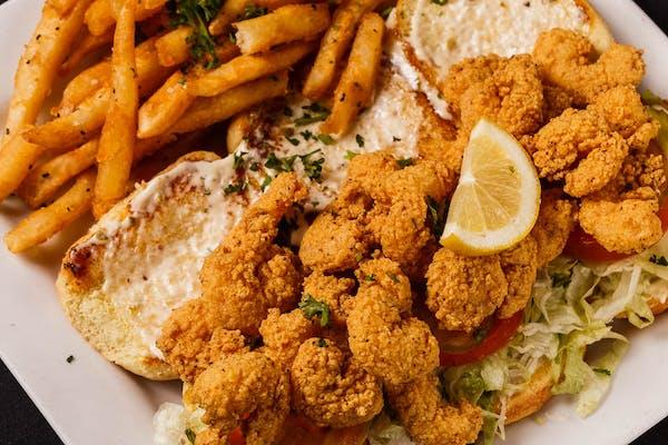 Fried Shrimp Sliders