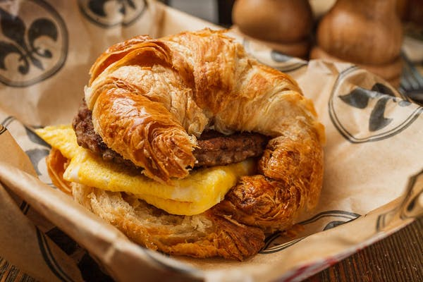 Egg & Sausage Biscuit