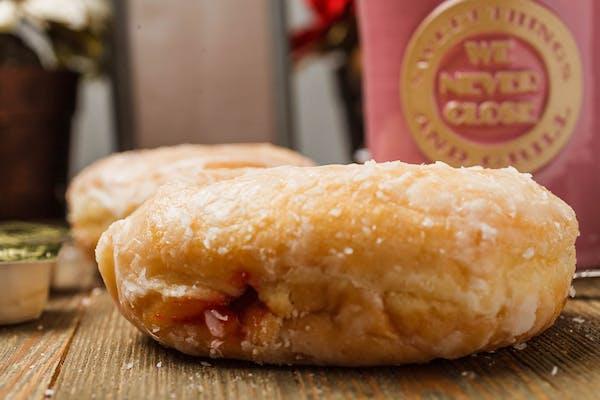 Glazed Jelly Donut