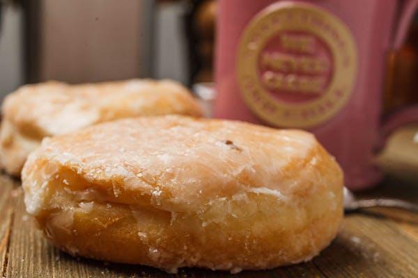 Glazed Cream Donut