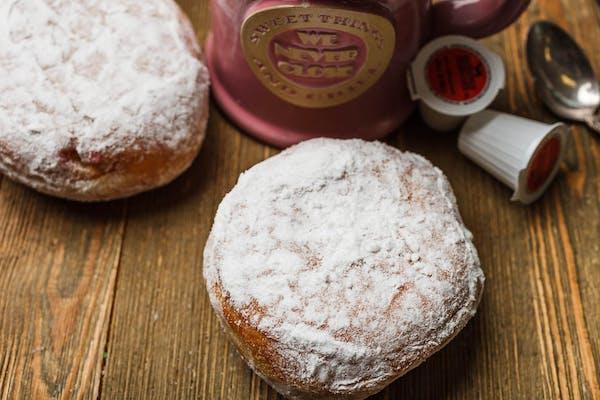Powder Cream Donut