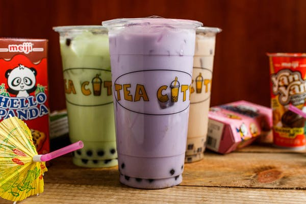M21. Taro Milk Tea