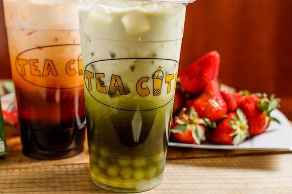 M22. Thai Green Tea with Tapioca