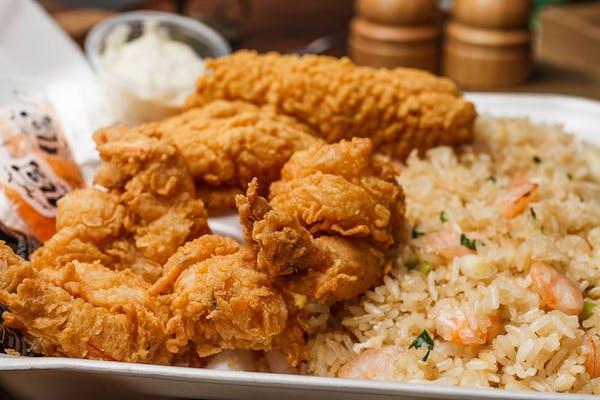 Chicken Tender Plate (Lunch)