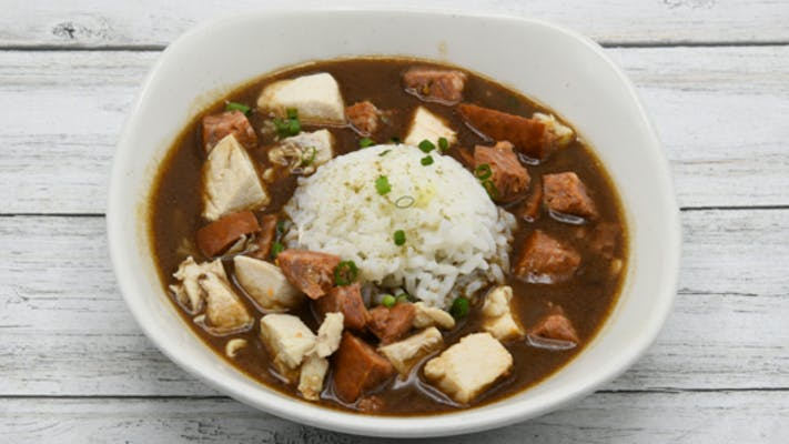 Chicken and Sausage Gumbo Small