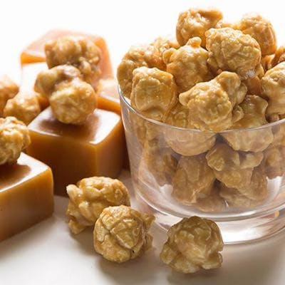 Mini Caramel Popcorn Cone