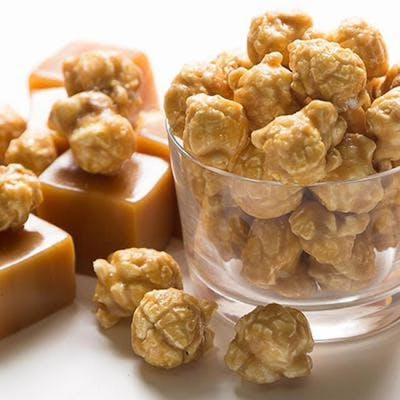 Regular Caramel Popcorn Cone