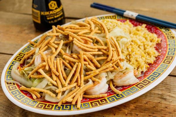 Shrimp Chow Mein Lunch