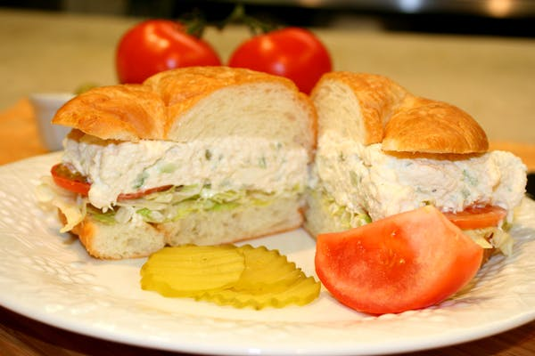Chicken Salad Sandwich or Poboy