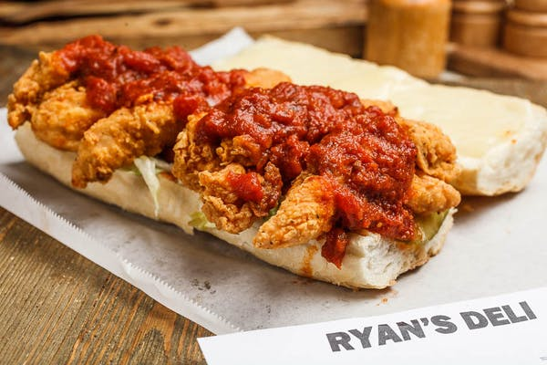 Chicken Parmesan Po Boy