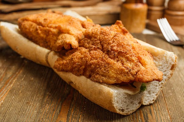 Fried Fish Po Boy