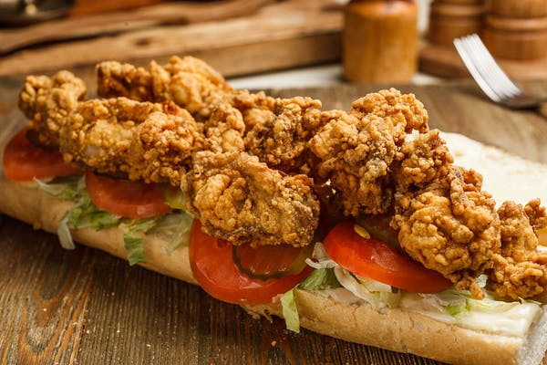 Fried Oyster Po Boys