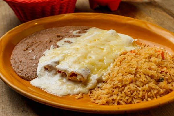 Enchiladas de Crema