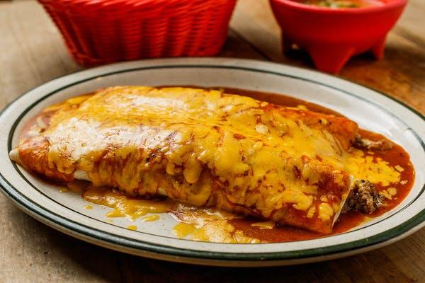Beef & Guacamole Burrito