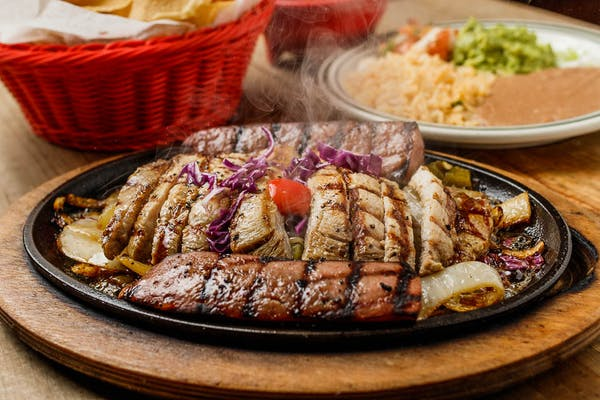 Pork & Sausage Fajitas