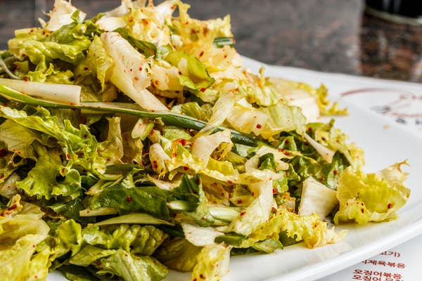 A4. Lettuce & Onion Salad