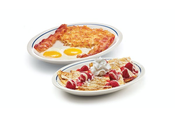 Create Your Own Crepe Combo