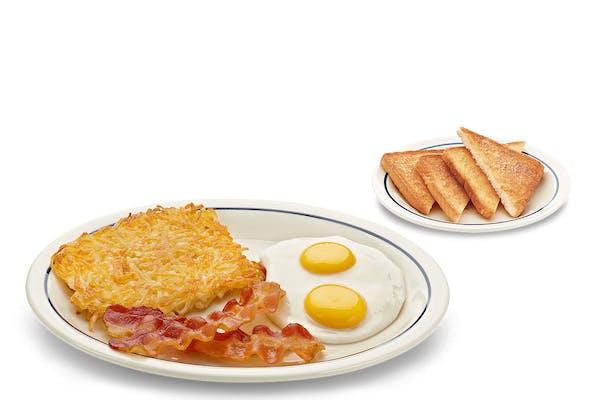 Quick 2-Egg Breakfast