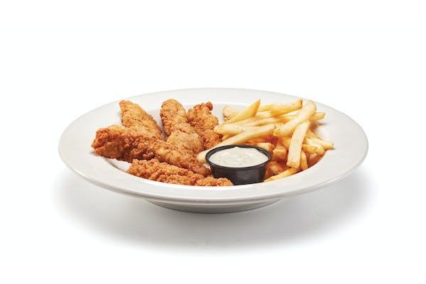 Buttermilk Crispy Chicken Strips & Fries