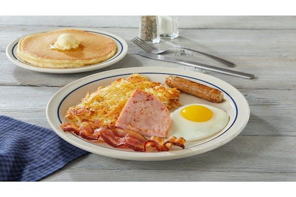 55+ Breakfast Sampler
