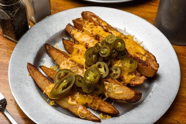 Patti's Big Fries with Cheese & Jalapeños