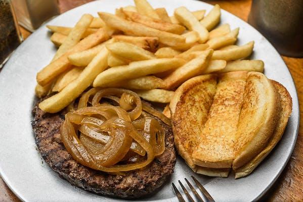 The Ground Pat'i Hamburger Steak
