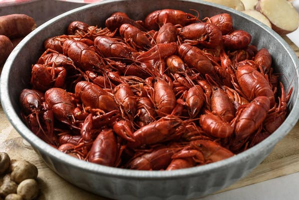 Boiled Crawfish per pound