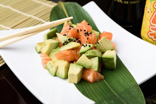 20. Salmon Avocado Salad