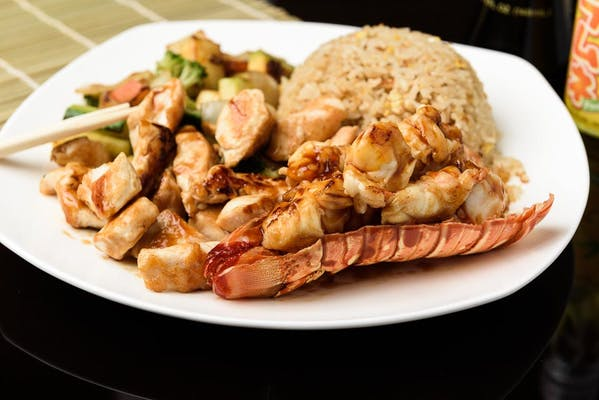 H27. Lobster & Chicken Hibachi Dinner