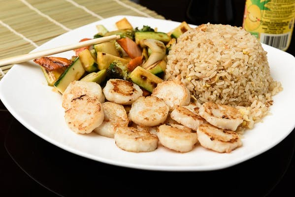 H5. Scallops Hibachi Dinner
