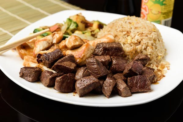 H7. Chicken & Steak Hibachi Dinner