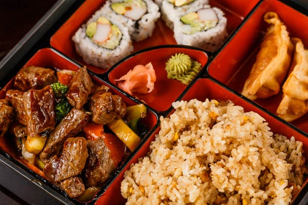 B2. Steak Bento Box