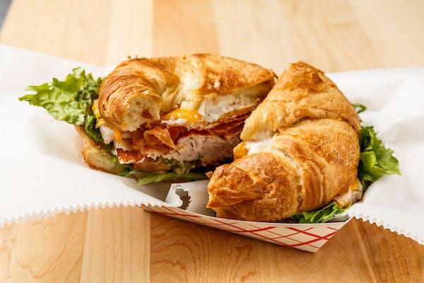 Turkey Bacon Croissant Sandwich