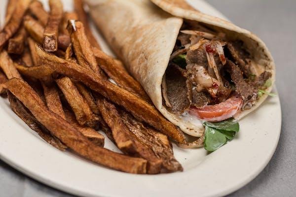 Gyro or Chicken Shawarma Sandwich