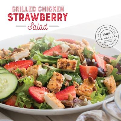 Grilled Chicken Strawberry Salad