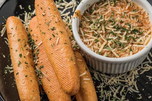 Étouffée Dip & Breadsticks
