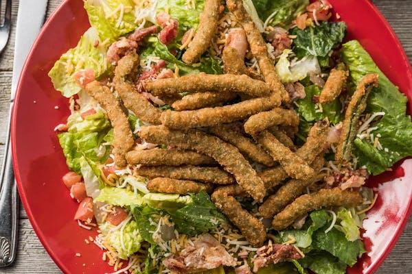 Fried Green Beans Salad