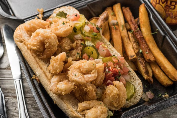 Fried Shrimp Po Boy