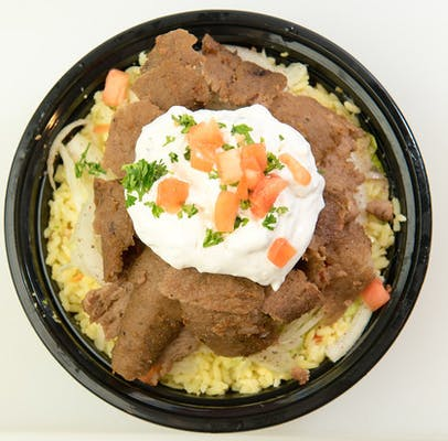 Traditional Gyro Rice Bowl