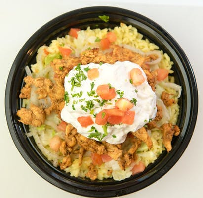 Chicken Gyro Rice Bowl
