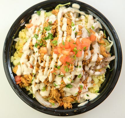Chicken Shawarma Rice Bowl